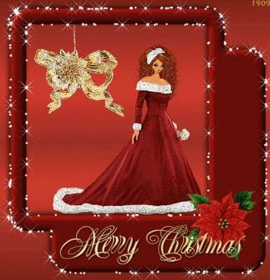Animated photo Merry Christmas Greetings Cards 2011