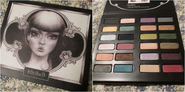 eye shadow, palette, sephora, kat von d,