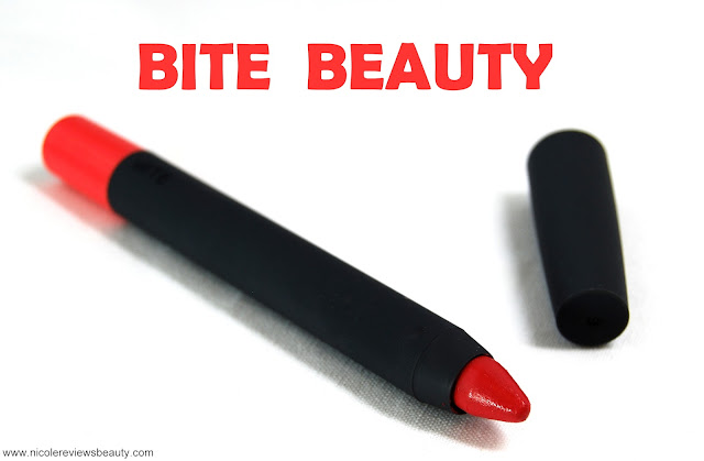 Bite Beauty High Pigment Matte Pencil in Tart Review and Swatches