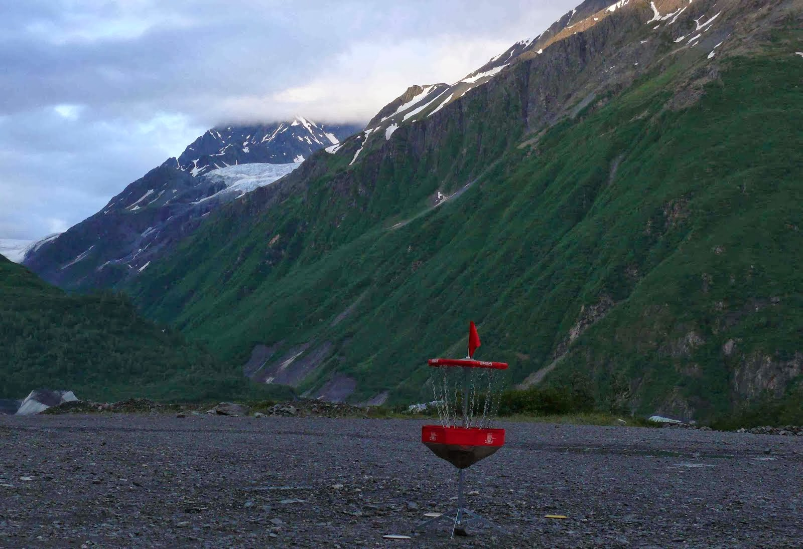 Disc Golf and Glaciers