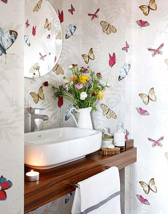 blog de decoração  Arquitrecos Banheiros inspiradores com algo em comum -> Sonhar Banheiro Feminino