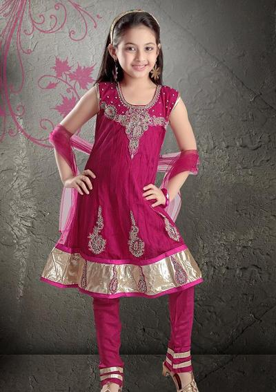 Anarkali-suits-for-kids