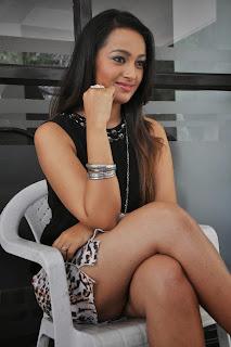 Actress Ester Noronha  Pictures at Jalsarayudu Movie Launch Event 029.jpg