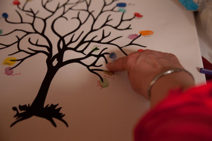 Carmen's Kleine Welt: Ein Baum Als Hochzeitsgeschenk Glitzerbaum Selber Machen
