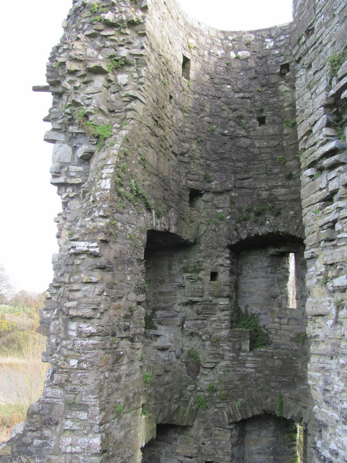 Defense tower at Trim Castle in Trim, Ireland