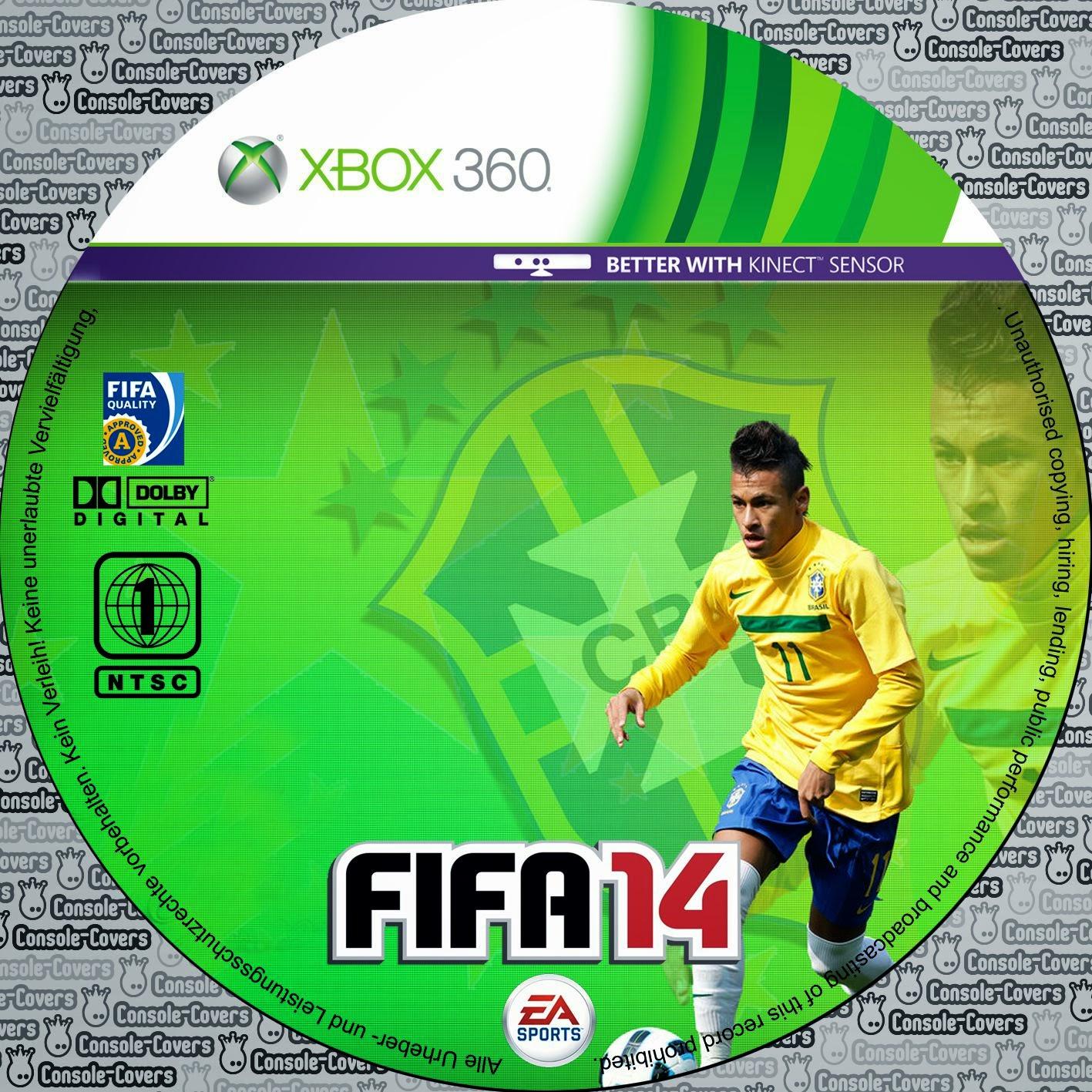 Label Fifa 14 Xbox 360