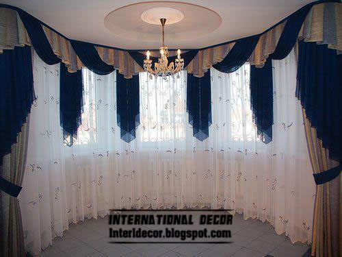 Curtains catalog designs styles colors for living room for Living room ideas blue curtains