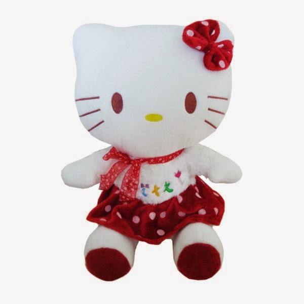 Boneka hello kitty untuk anak gratis