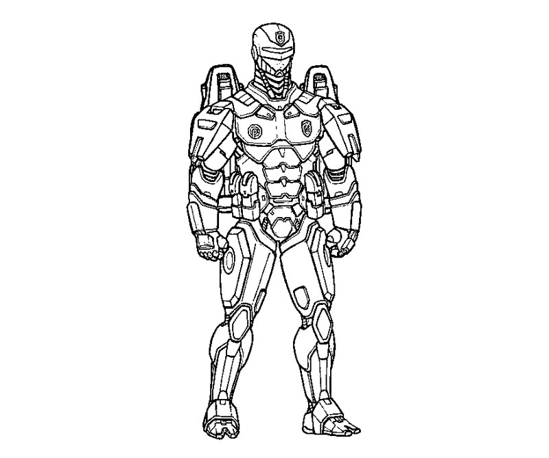 robocop coloring pages - photo#17