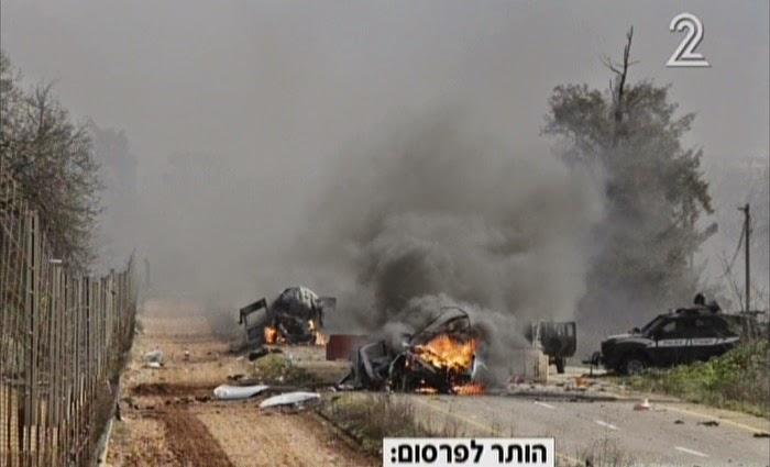 Dois soldados israelenses morrem em ataque do Hezbollah