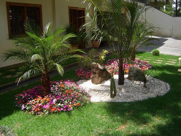 Milton Jardinagem Jardins Paisagismo -> Decoração De Jardins Pequenos Com Flores