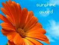 Sunshine Blogger Award June 2012