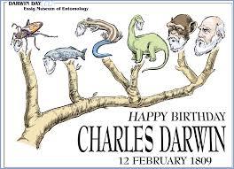HAPPY BIRTHDAY CHARLES DARWIN!