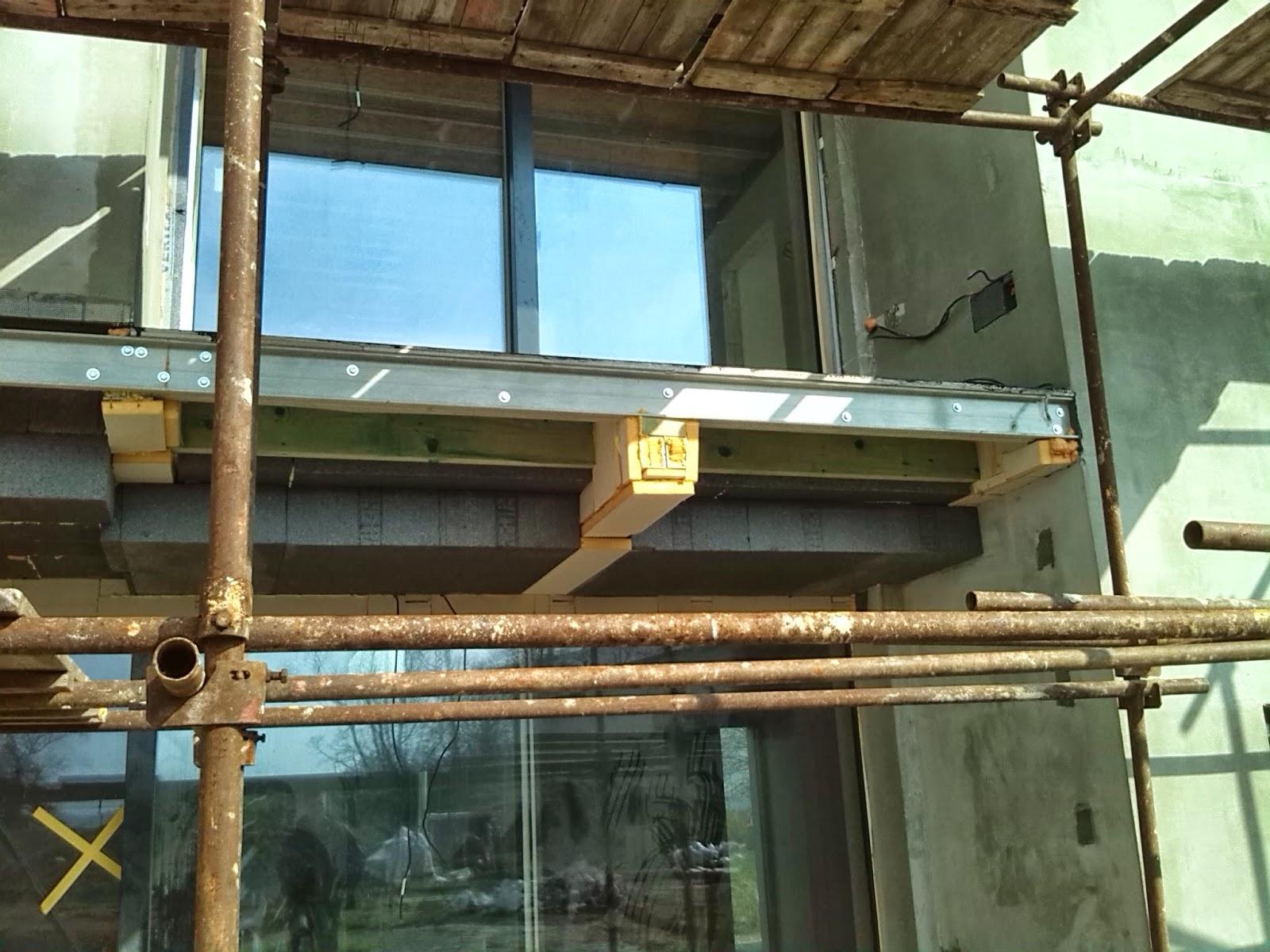 Izolace nosné konstrukce balkonu