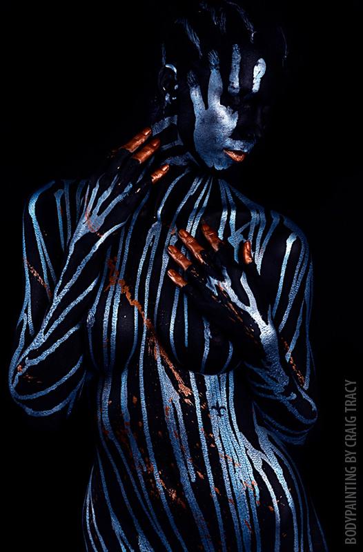 Craig Tracy | Body Art Illusions painter