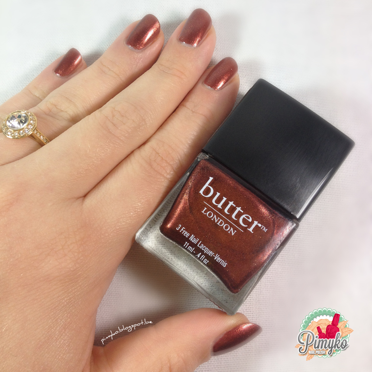 "Pimyko swatch ""Shag"" by Butter London"
