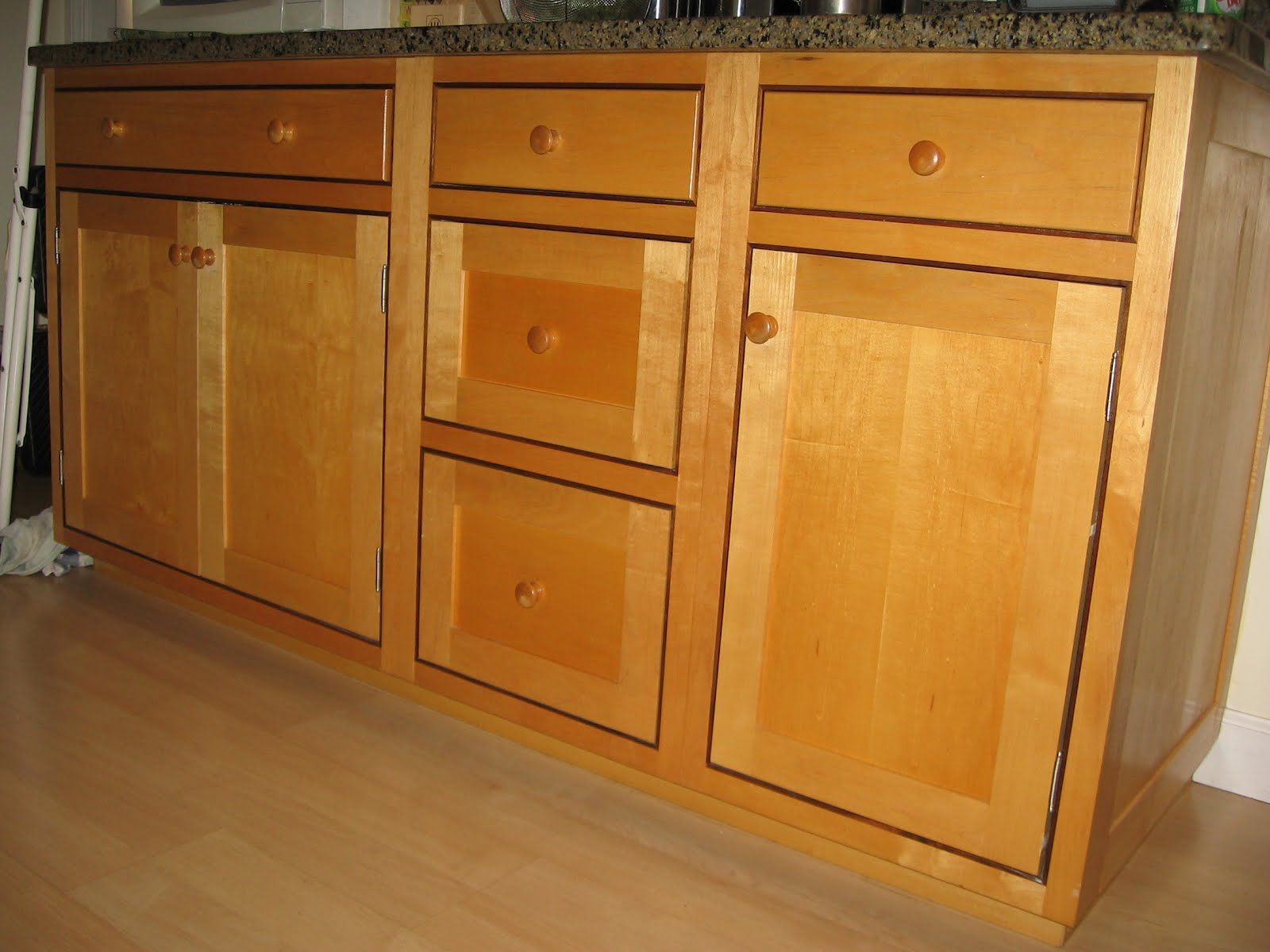 custom maple and walnut kitchen cabinets westchester ny