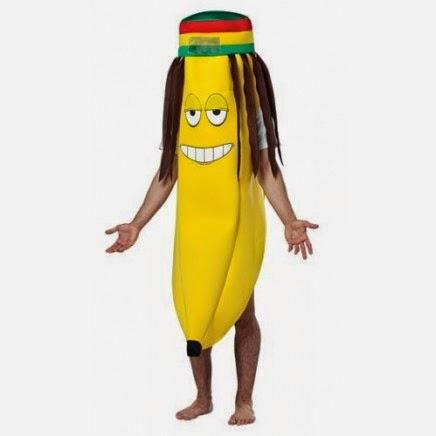 Disfraz de Banana Rasta