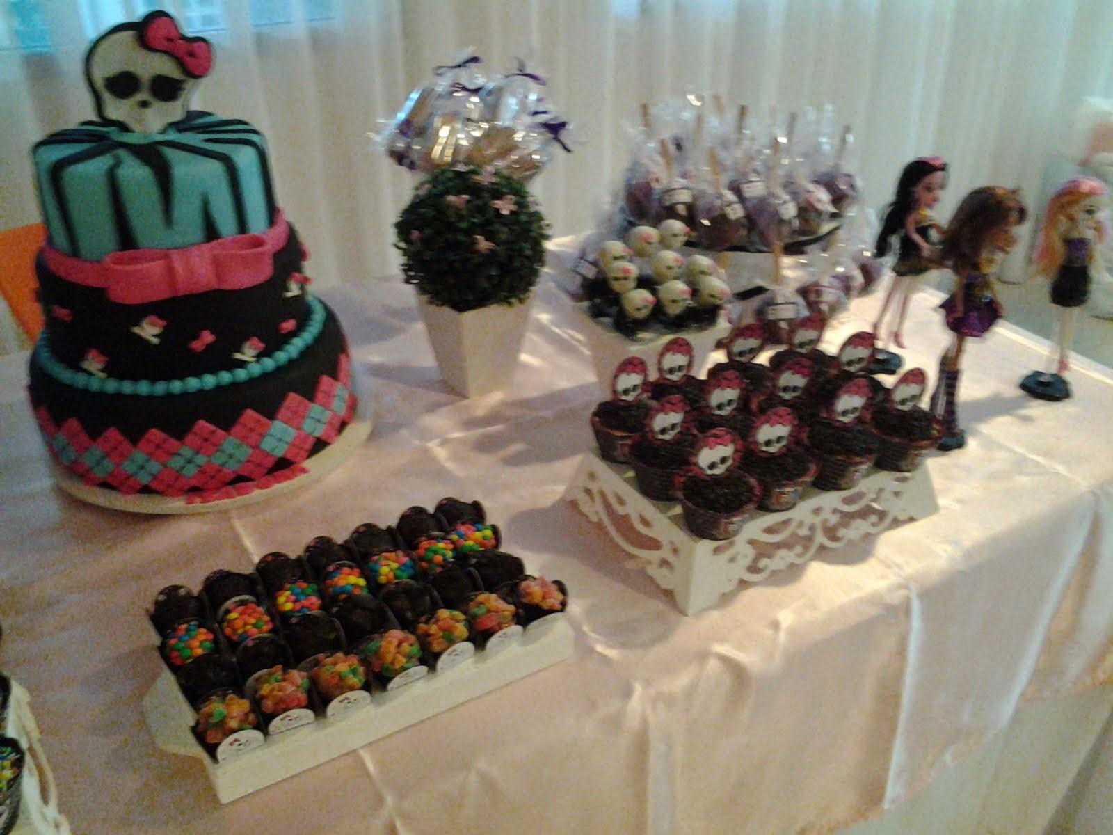 O bolo é lindo mas e falso, só para decorar (última febre nas festas)