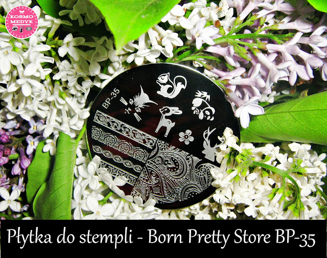 Płytka do stempli - Born Pretty Store BP-35