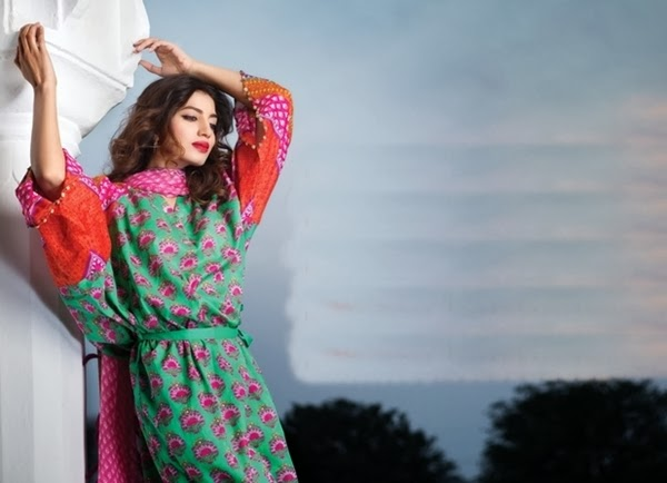 Khaadi Summer Collection 2014 Catalogue Khaadi Summer Lawn Collection