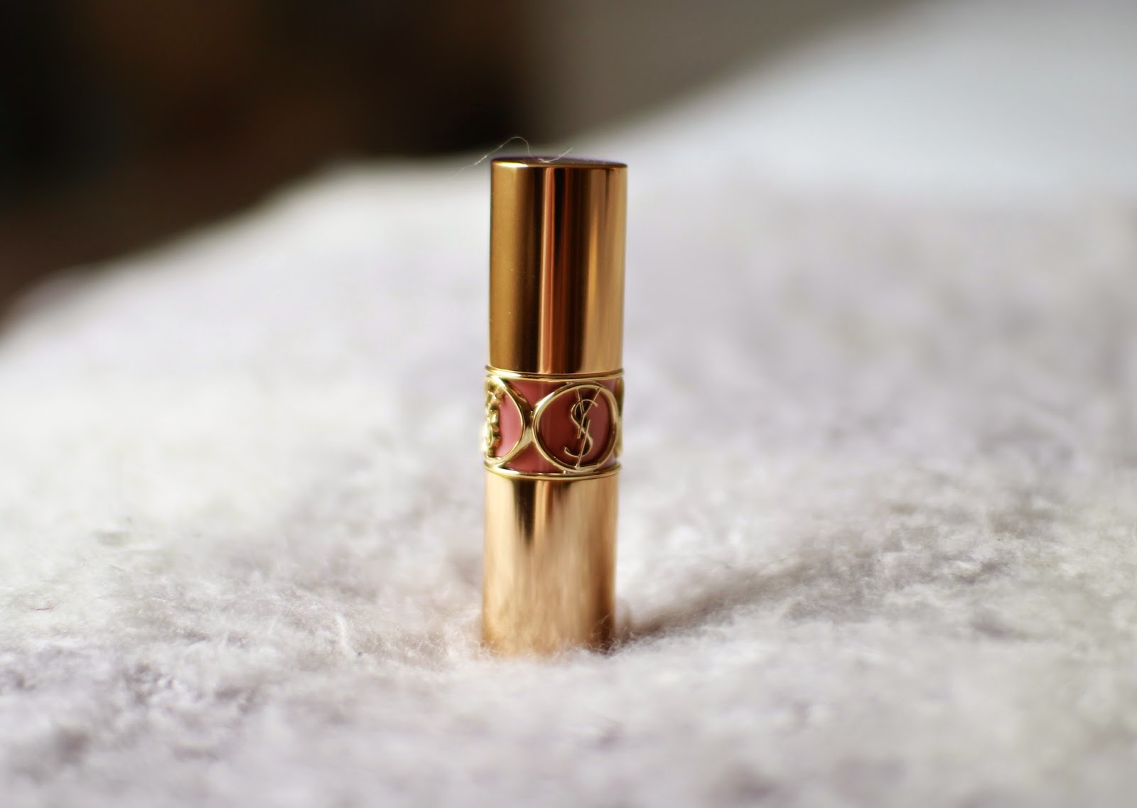YSL Rouge Volupte in Nude Beige