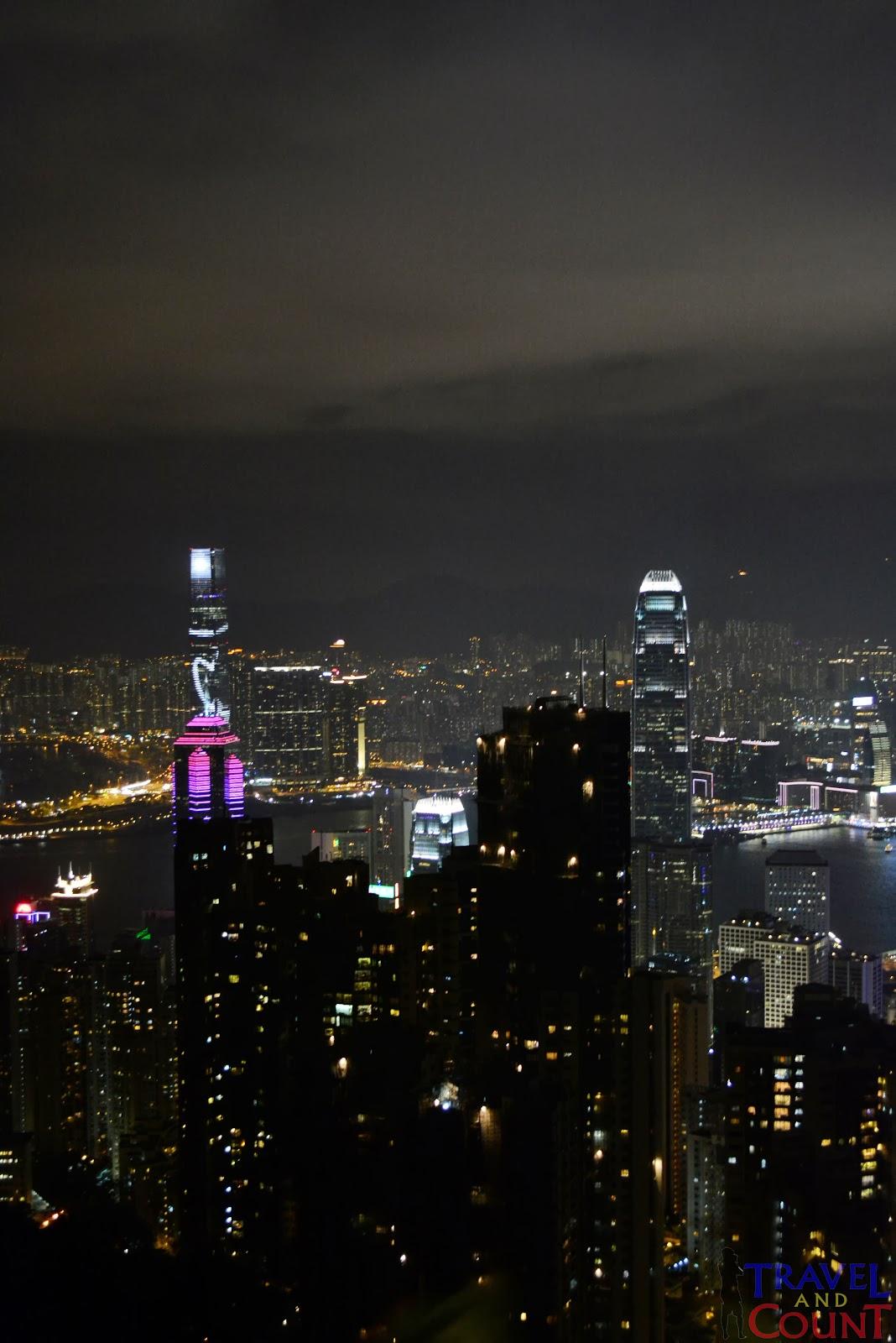View at The Peak Hong Kong