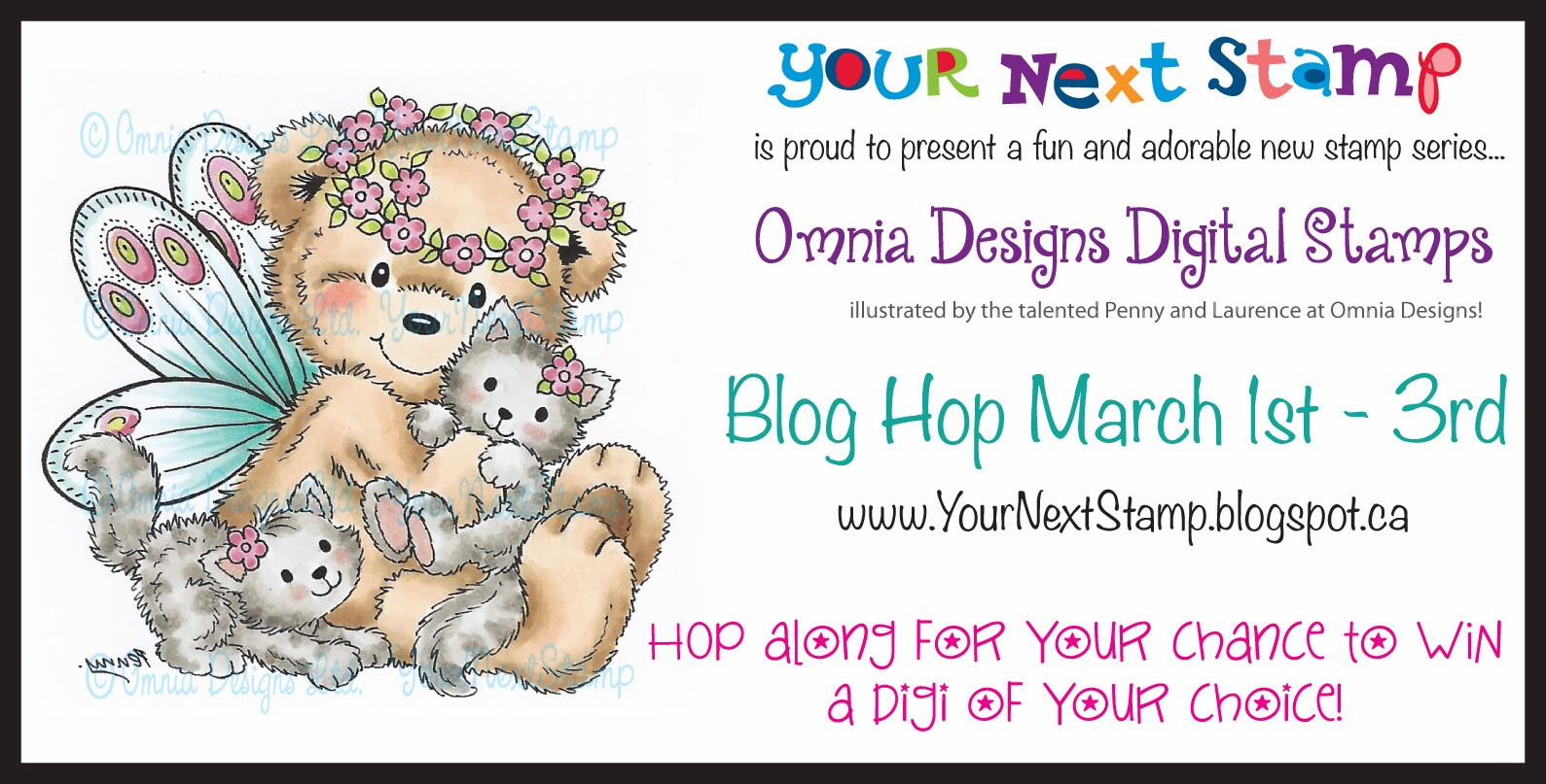 YNS March Digital Stamp Release
