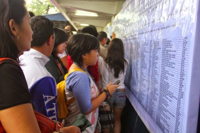 Ateneo releases ACET results for AY 2016-2017