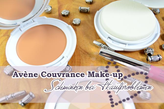 Avene Couvrance Make-up - Schminken bei Hautproblemen
