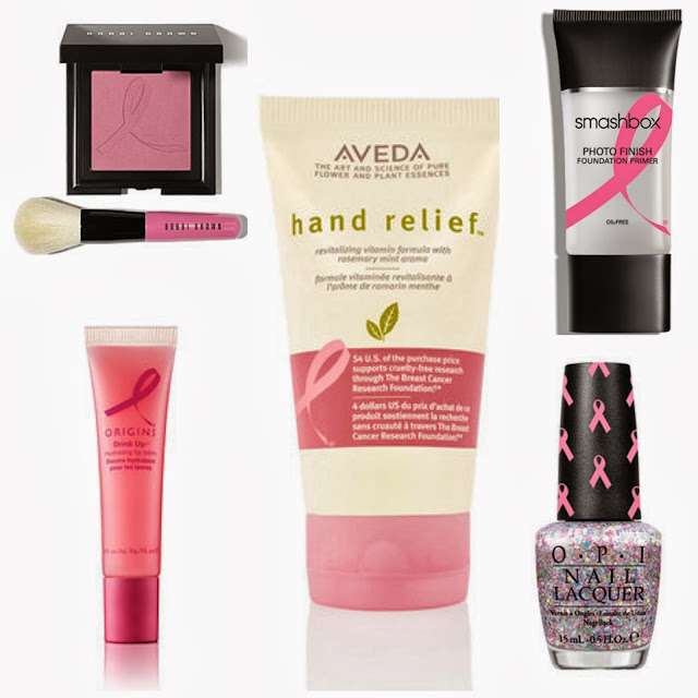 BREAST CANCER AWARENESS BEAUTY PRODUCTS 2013