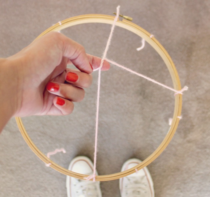 Displayed In This Embroidery Hoop Is A Fantastic: Wattlebird: DIY Embroidery Hoop Photo Display