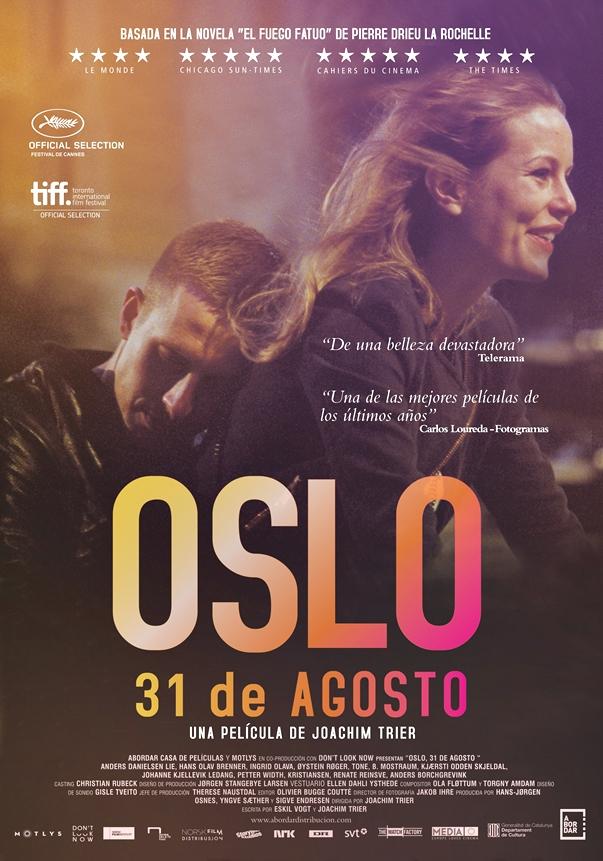 Oslo, 31 de agosto, de Joachim Trier
