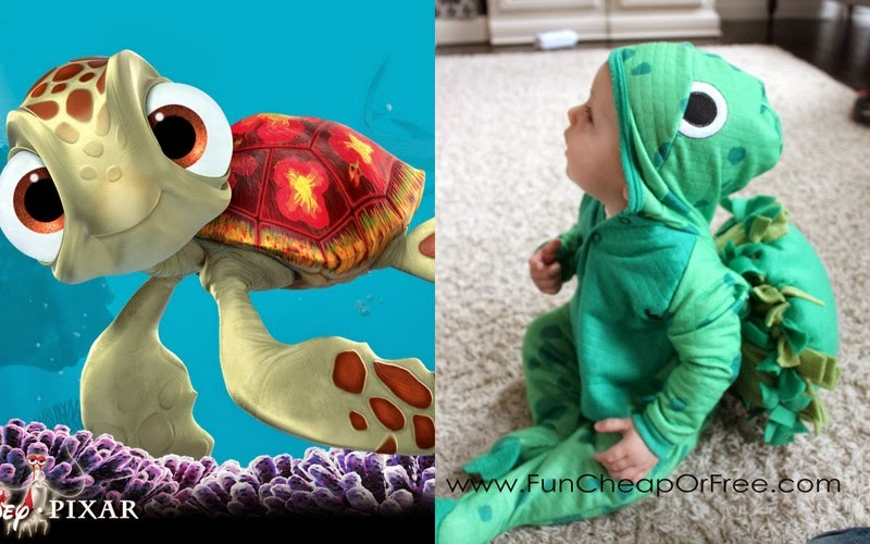 Diy finding nemo costumes plus the 6 tricks to getting halloween diy finding nemo costumes plus the 6 tricks to getting halloween costumes for dirt cheap solutioingenieria Gallery