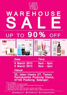 SHILLS Warehouse Sale 2013