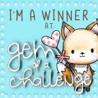 Winner at A Gem Of A Challenge