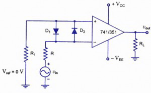 Circuit panel: Zero Crossing Detector Circuit
