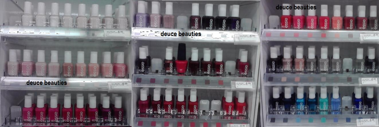Deuce Beauties: Spotted: Essie & New 2011 Sally Hansen Products at CVS