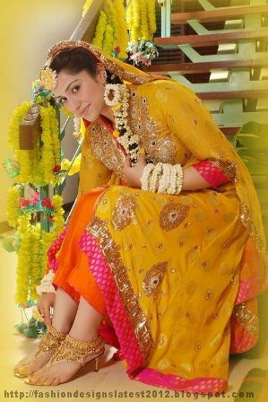 Mehndi-Mayon-Dress