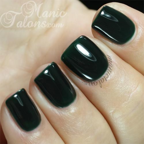 Madam Glam Gel Polish #161 Deep Emerald Swatch
