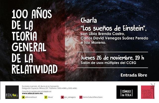 Ciencia, libros y música en el Centro Cultural Elena Garro