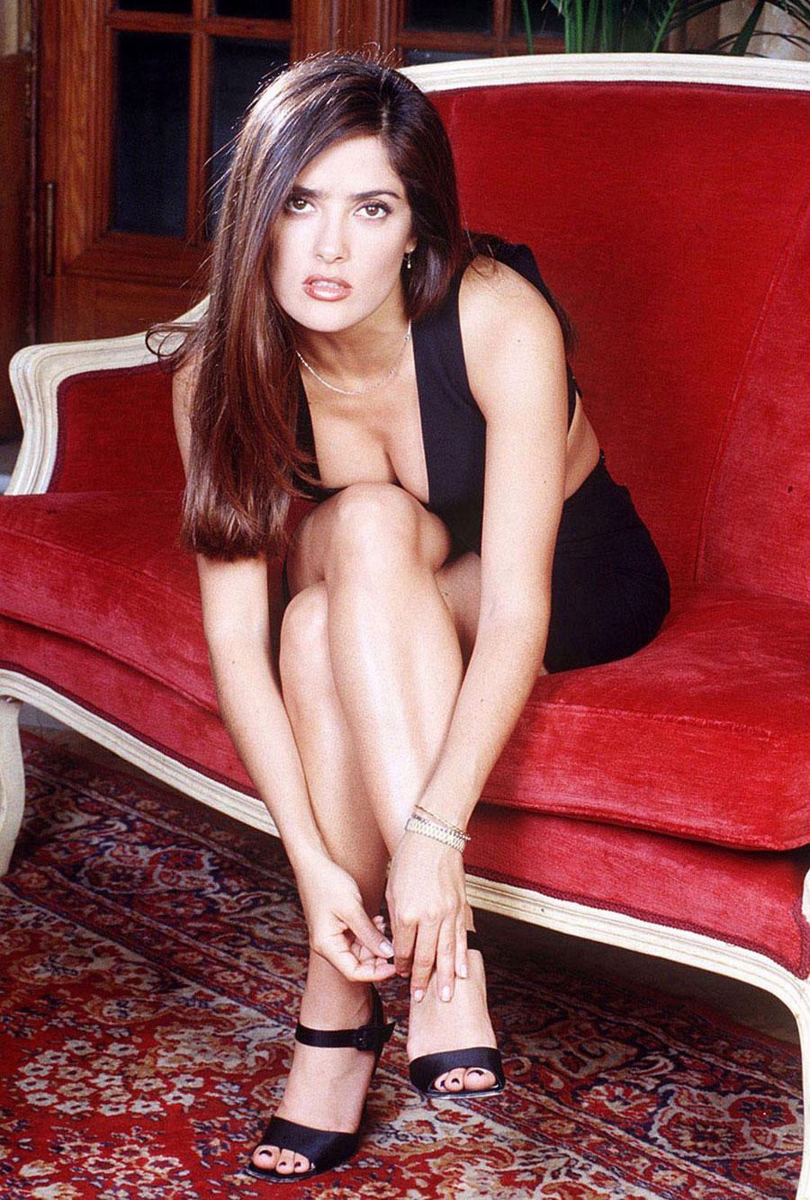 Hayek Salma Red Bikini Related Keywords & Suggestions - Hayek Salma ...