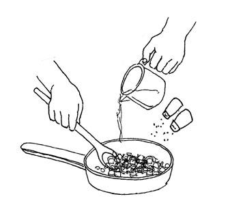 Add Chicken broth by Yukié Matsushita