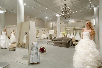 negozio di abiti da sposa