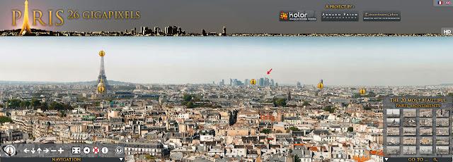 Paris 26 Gigapixels.