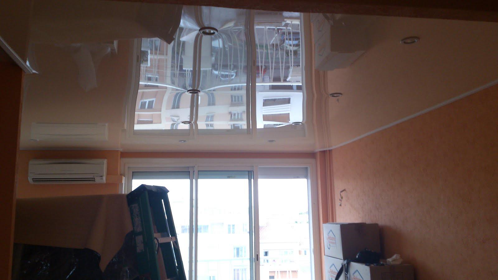 The Batica-Renov Stretch Ceiling system