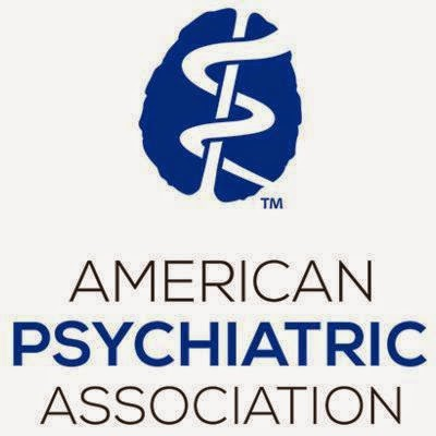 American Psychiatric Association Logo w/ Brain