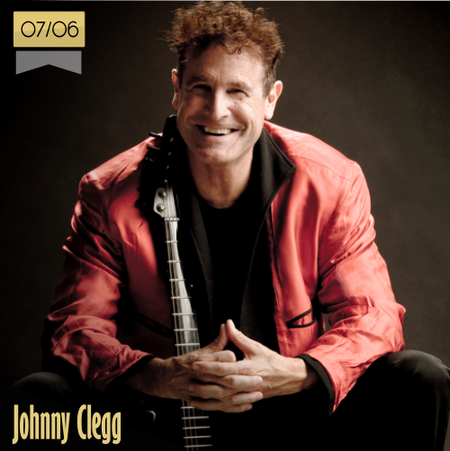7 de junio | Johnny Clegg - @JohnnyCleggReal | Info + vídeos