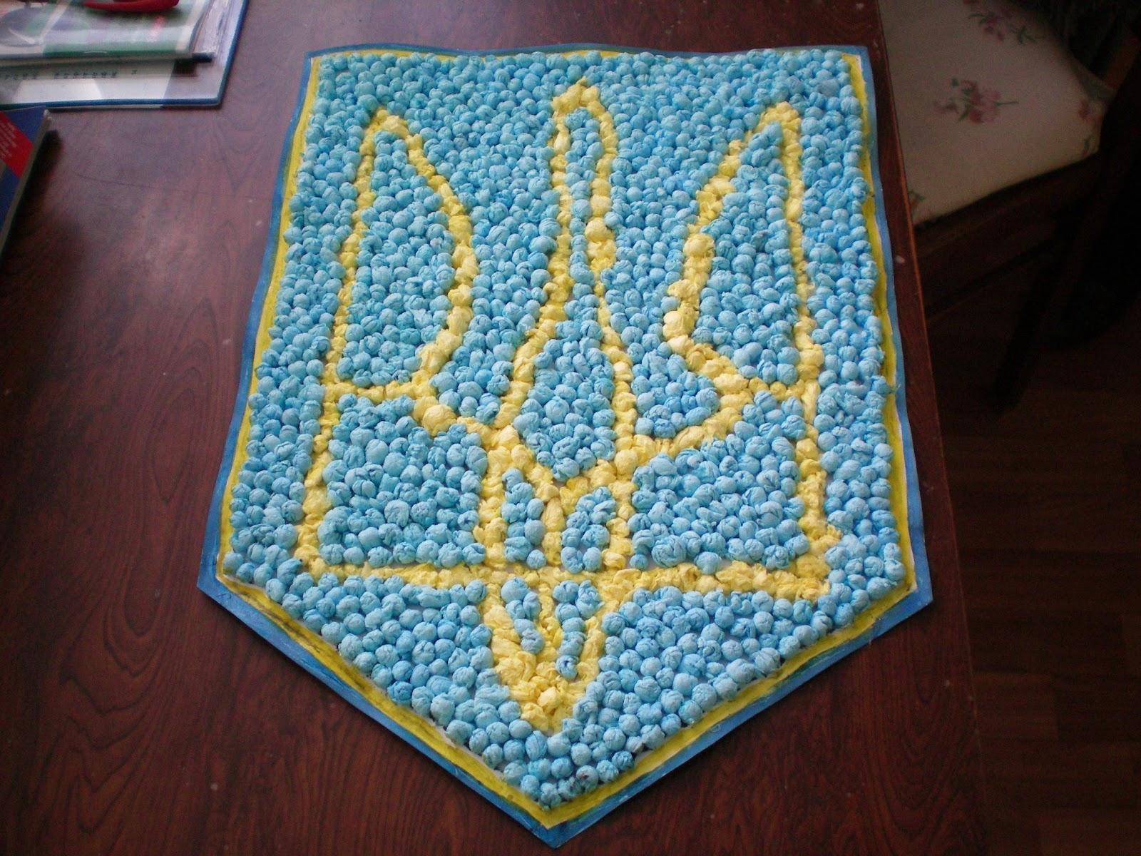 Самый большой флаг Украины из пасок создали в Днепре - Цензор.НЕТ 7690