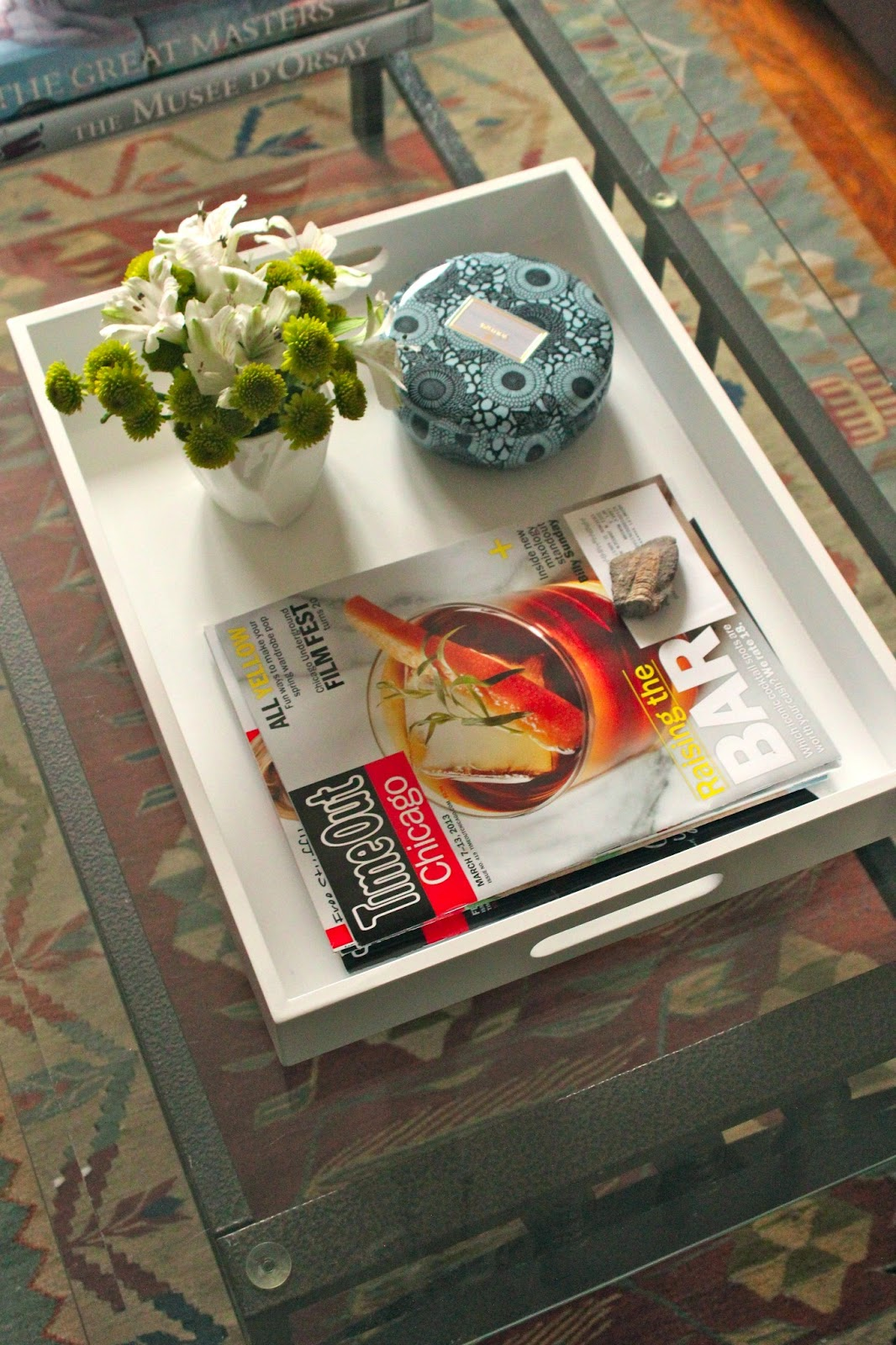Carey on lovely at home coffee table tray geotapseo Images